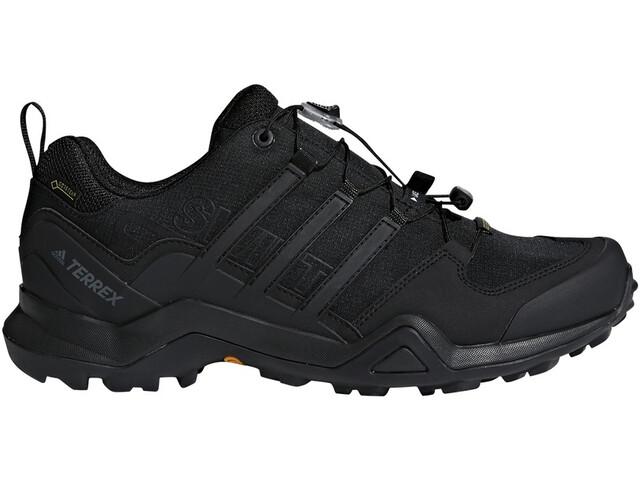 adidas TERREX Swift R2 Gore-Tex Zapatillas Senderismo Resistente al Agua Hombre, core black/core black/core black